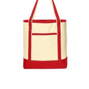 Large Cotton Canvas Boat Tote Thumbnail