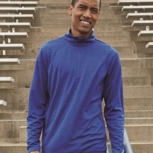 Striated Quarter-Zip Pullover Thumbnail