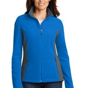 Ladies Colorblock Value Fleece Jacket Thumbnail